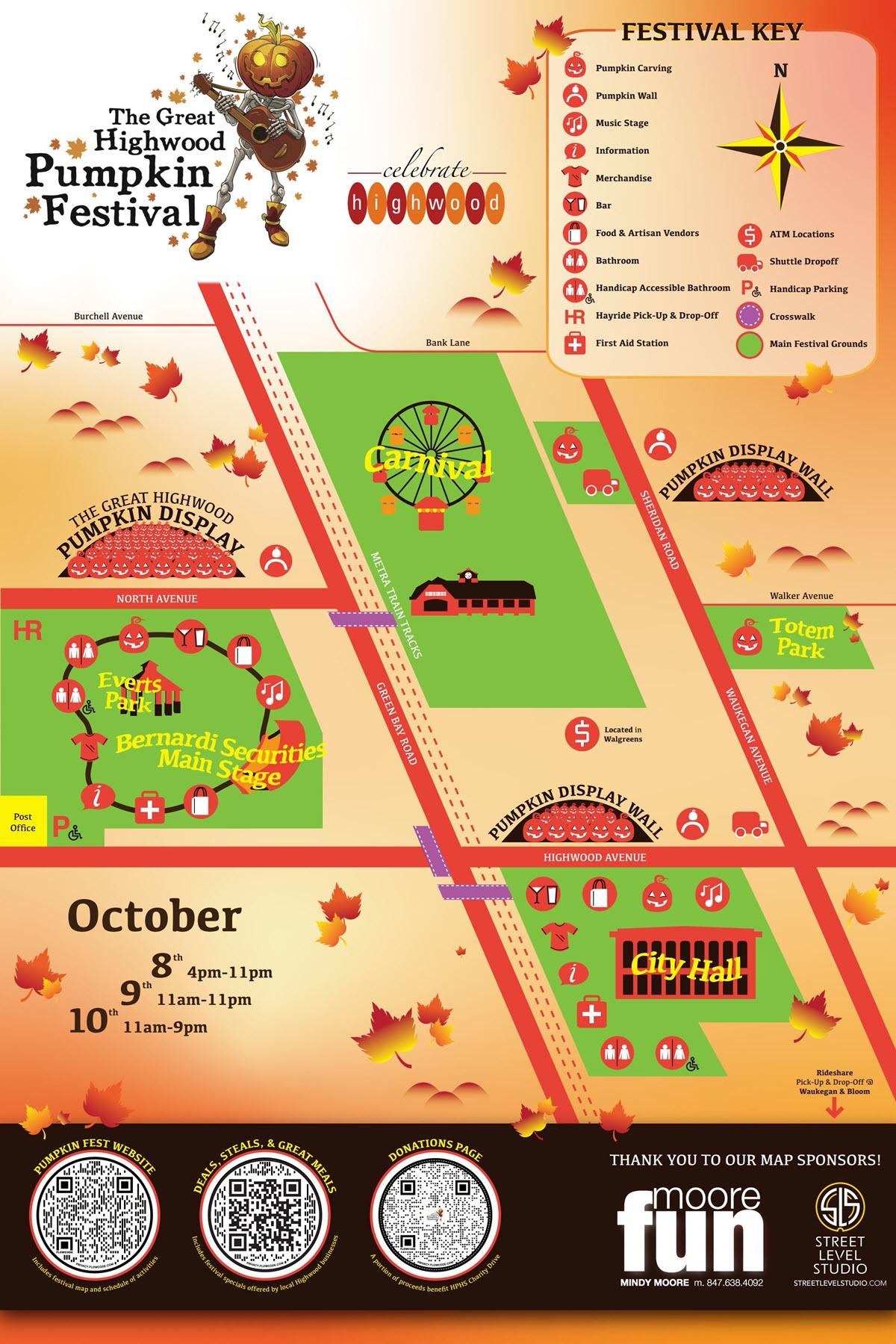 Pumpkin Fest Map 2021 Map
